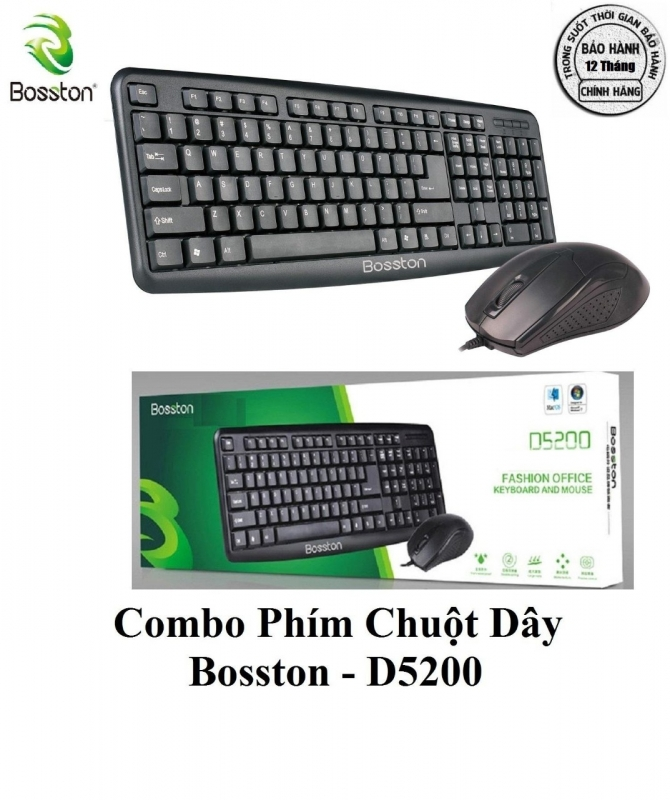 Keyboard + Mouse Bosston D5200