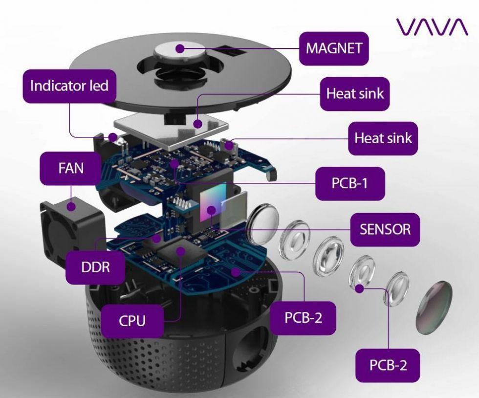 Camera Hành Trình Xe Ô Tô Dash Cam VAVA CD-001 WIFI + GPS - Full HD 1080P