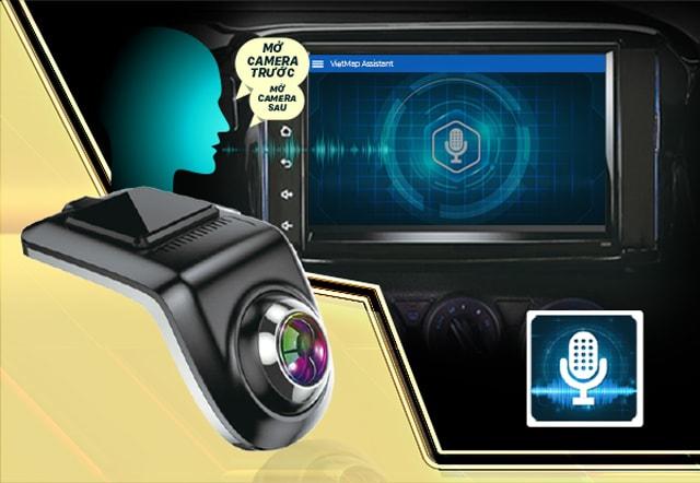 Camera Hành Trình xe Ô Tô VietMap V5 -  Ghi hình Trước và Sau xe